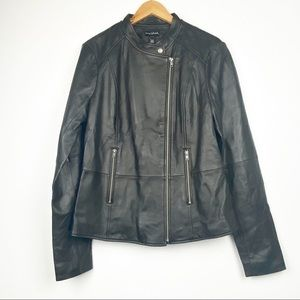 LONG TALL SALLY NWT Faux Leather Moto Jacket 12L
